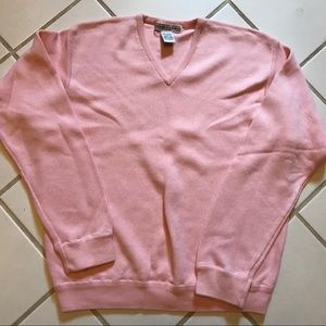 Pink Izod Club sweater size large